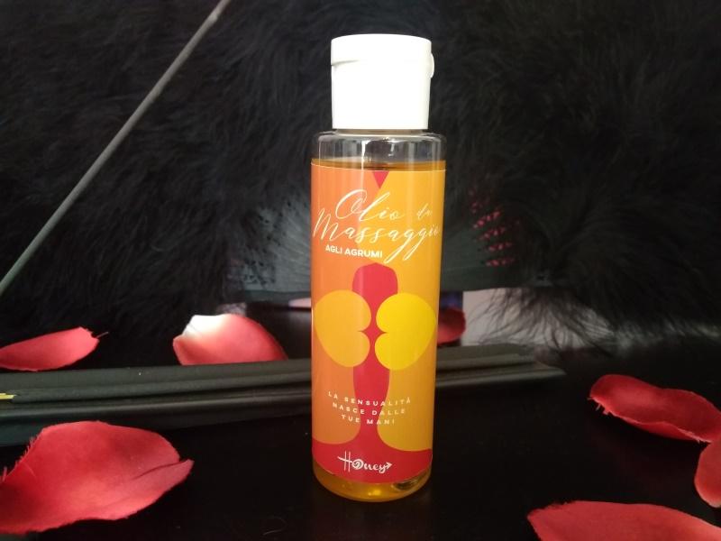 Olio non unto per un sensuale massaggio energizzante